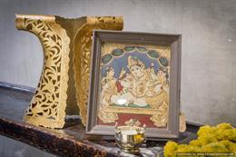 Lord Krishna Tanjore