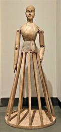Big Wooden Doll figure