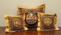 Zardosi Cushions