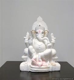 Ganeshji Marble Idol