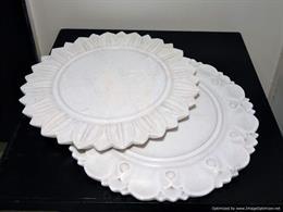 Marble Designer Platters